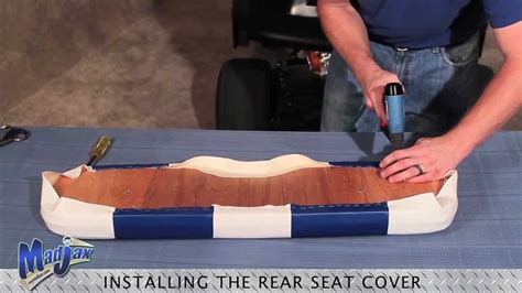 diy boat rear bench seat beague get diy boat seat covers