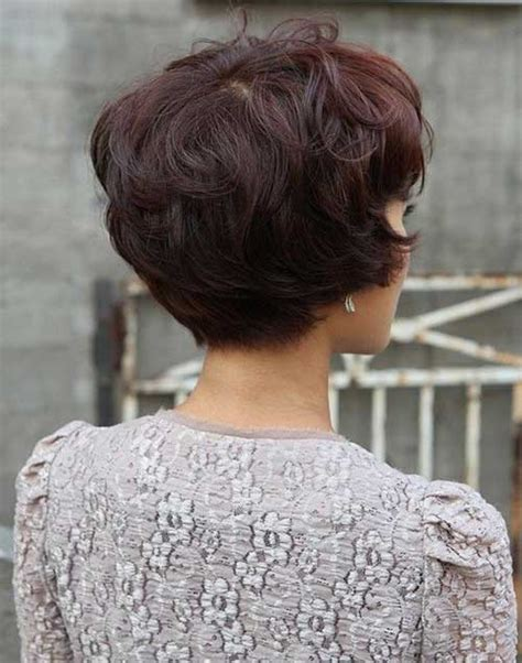 the backs of womens short haircuts 15 layered bob back view bob hairstyles 2017 short