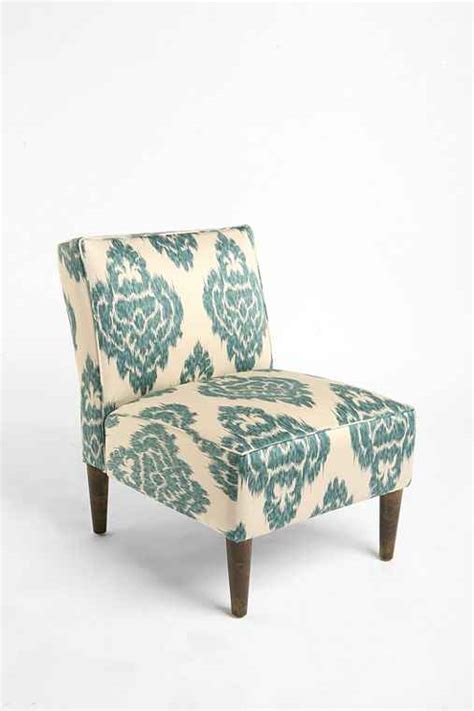 Ikat Chairs by Slipper Chair Turquoise Ikat Outfitters