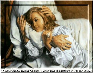jesus comforts us gethsemane true living