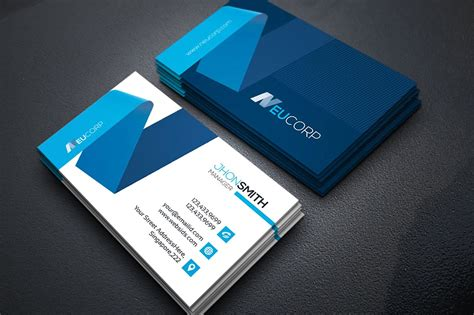 e card business template web business card template vol 08 business card templates