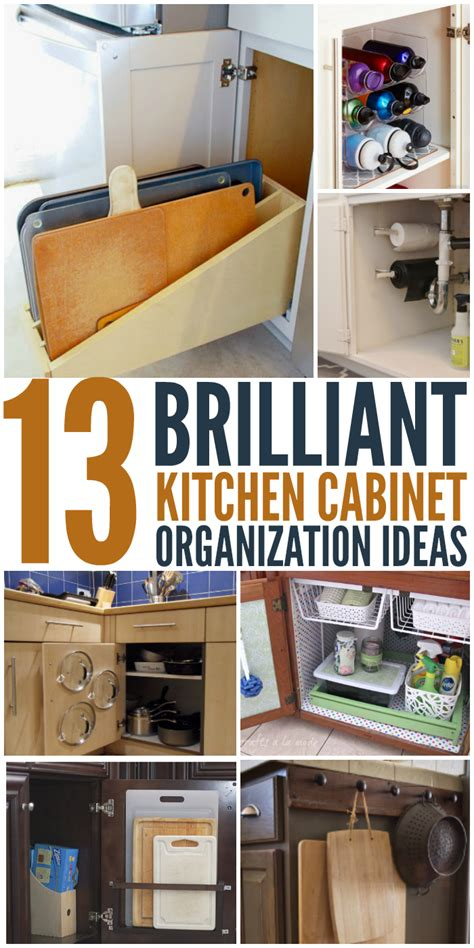 ideas to organize kitchen cabinets 13 brilliant kitchen cabinet organization ideas glue