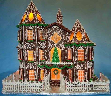 Gallery A Gingerbread House In Gingerbread House 2015 Cakecentral Com