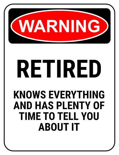 printable retirement road signs free printable retirement signs baskan idai co