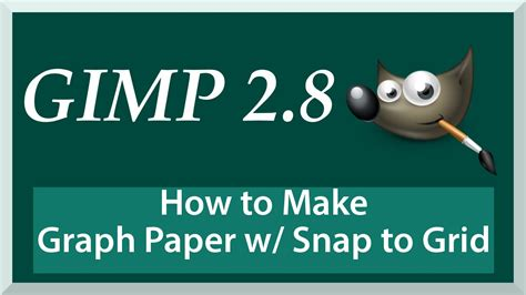how to make chart psper for make sagun envelope how to create custom grid paper snap to grid gimp 2 8 tutorial for beginners