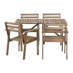 Where Can I Buy Dining Room Chairs Askholmen Table 4 Chairs W Armrests Outdoor Ikea