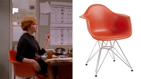 mad men furniture vitra eames dar chair mad men film and furniture