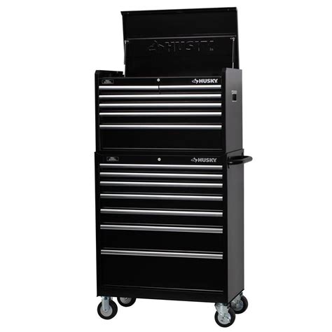 husky 34 in 13 drawer tool chest and cabinet set h346ch