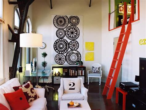 low budget decorating high style looks hgtv design caller selected spaces cool urban loft space ideas