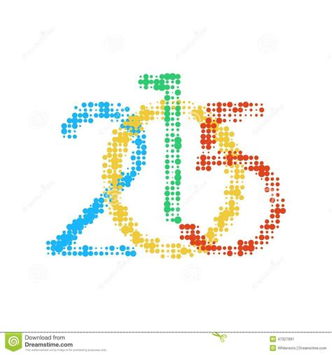 new year logo design 2015 new year 2015 number stock vector image 47327991