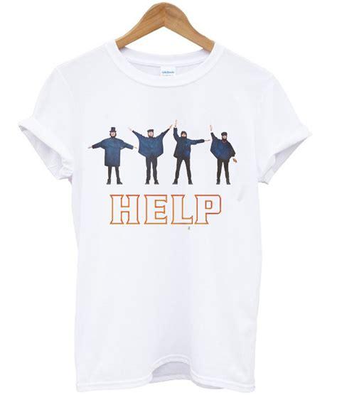 The Beatles Tshirt the beatles help t shirt