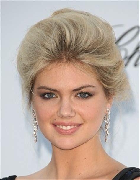haircuts edinburgh a medium blonde straight coloured updo kate upton