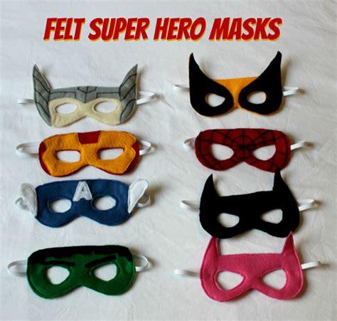 pattern for felt superhero mask felt superhero masks sometimes homemade
