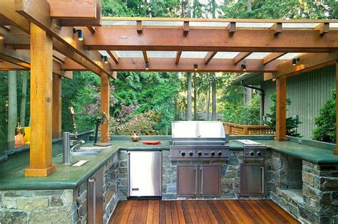 small outdoor kitchen design ideas 40 beautiful outdoor kitchen designs