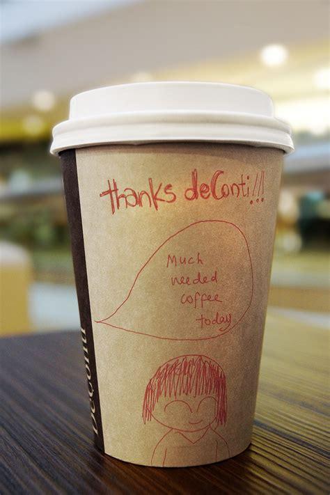 deconti caffe gelato  behance
