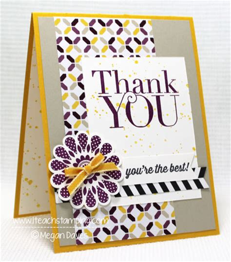 Handmade Thank You Card Designs - handmade card designs a thank you card i teach