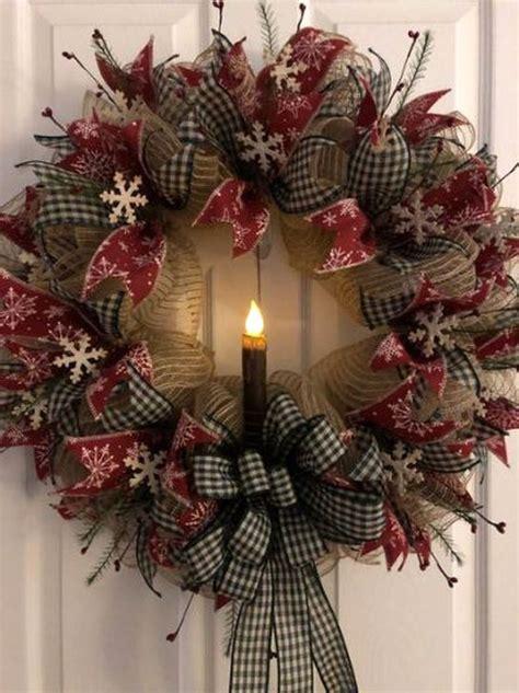 easy diy outdoor winter wreath   door homystyle