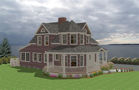 seaside house plans seaside cottage traditional house plan new england