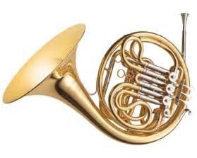 instrumentos musicales vientos bronces el corno