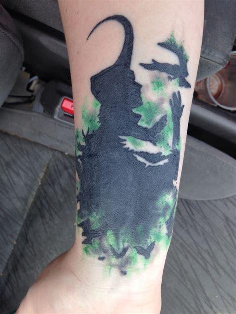 loki tattoo loki silhouette loki marvel awesome tattoos