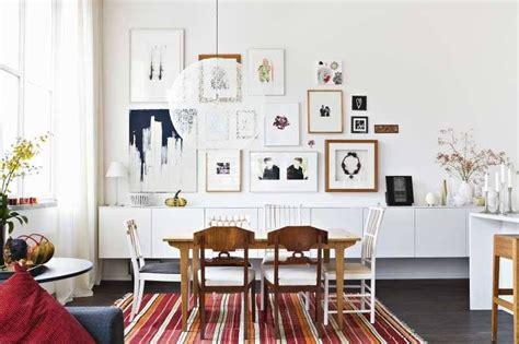 nordic decor inspiration in two colorful homes sala comedor y terraza al estilo nordico