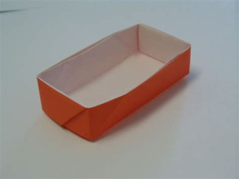 Origami Using Rectangle Paper - rectangular origami box