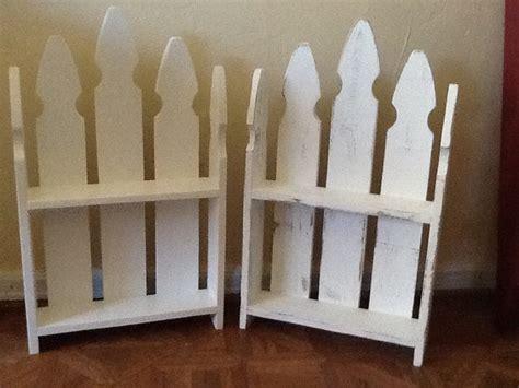 Picket Fence Shelf by Picket Fence Wall Shelf