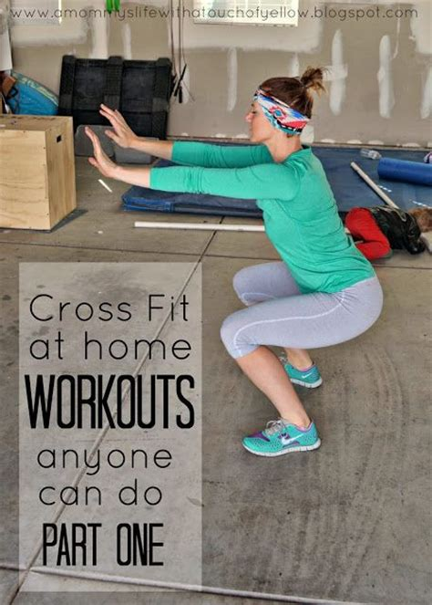 crossfit at home workouts anyone can do get in shape