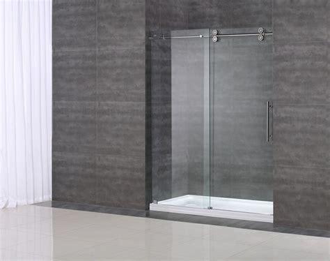 Clear Glass Shower Doors 1000 Images About Sdr978 Langham Completely Frameless Sliding Shower Door On Pinterest