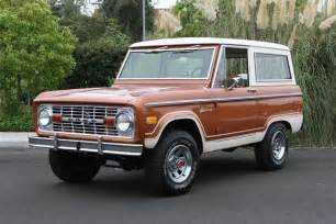 1977 ford bronco suv 117320