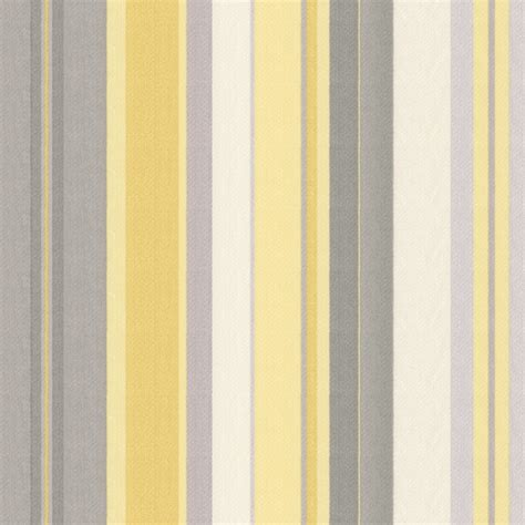 yellow grey yellow and silver gray stripe fabric