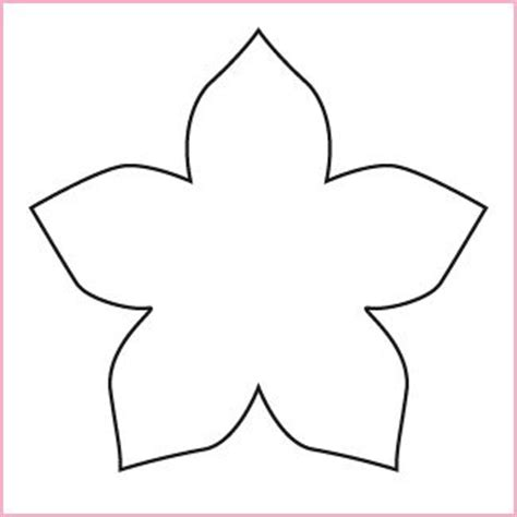 flower pattern for cut out 50 best mallen voor bloemen images on pinterest flower