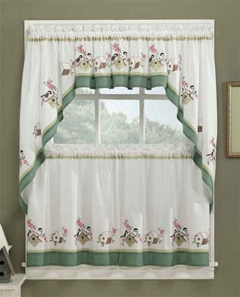 cheap kitchen curtain sets birdsong kitchen curtains discount kitchen curtains