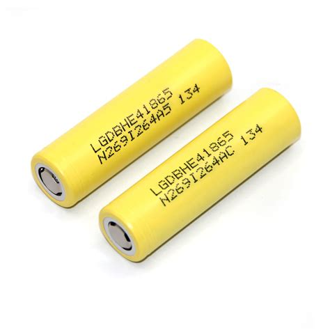 Lg He4 18650 By Khobra Vapor lg 18650 he4 li ion battery