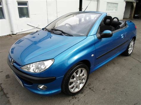 peugeot 206 convertible used peugeot 206 cars second hand peugeot 206