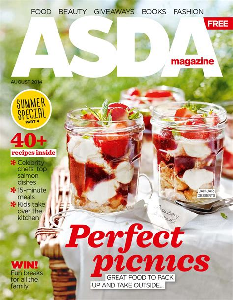 new year food asda asda magazine august 2014 by asda
