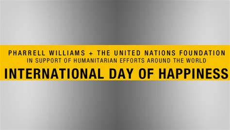 pharrell williams united nations united nations foundation partners with pharrell williams