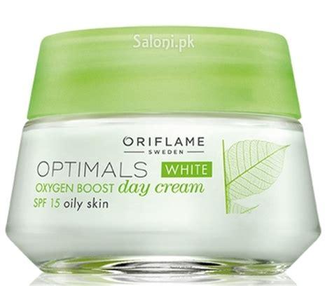 oriflame optimal white oxygen boost day skin 50 ml saloni health supply