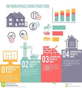 construction infographic set stock vector image 39801014