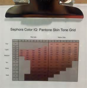 color iq sephora how to choose foundation sephora color iq ef creative