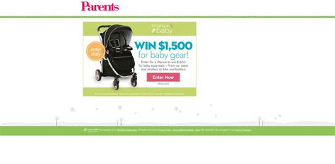 Baby Sweepstakes 2014 - american baby bringing up baby sweepstakes