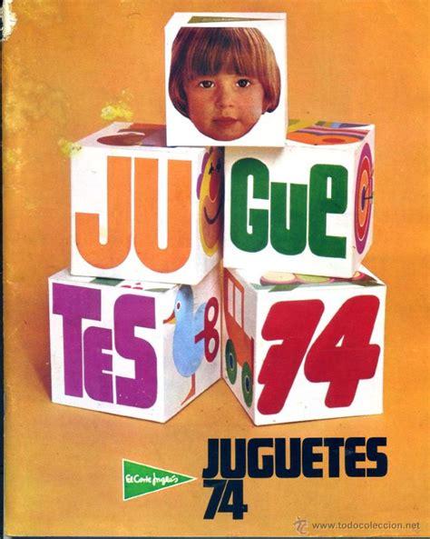catalogo juguetes corte ingles cat 225 logo de juguetes de 1974 de el corte ingl 233 s comprar