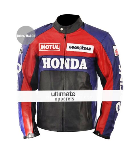 red and black motorcycle jacket honda red and black motorcycle replica jacket