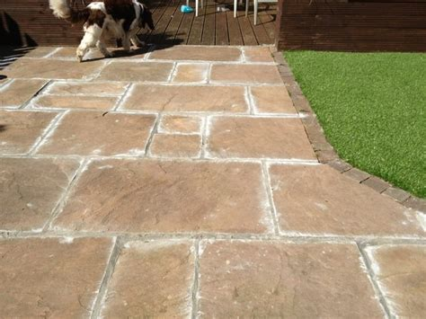 Pointing Patio by Preloved How Do You Fill The Cracks Between Paving Slabs
