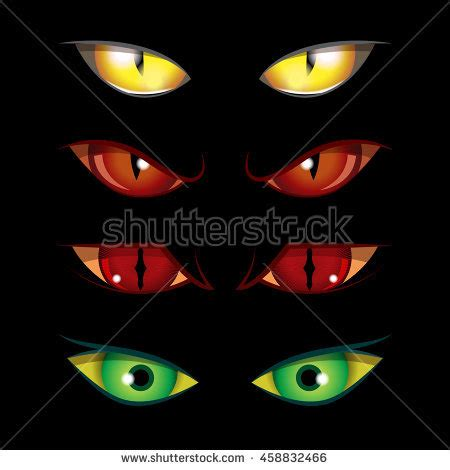 printable creepy eyes predator stock images royalty free images vectors