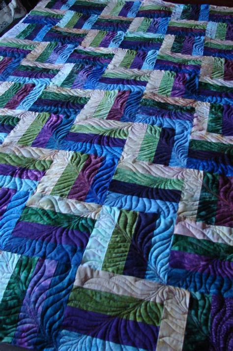 Beautiful Quilts Simple Pattern Beautiful Quilting Longarm Quilting