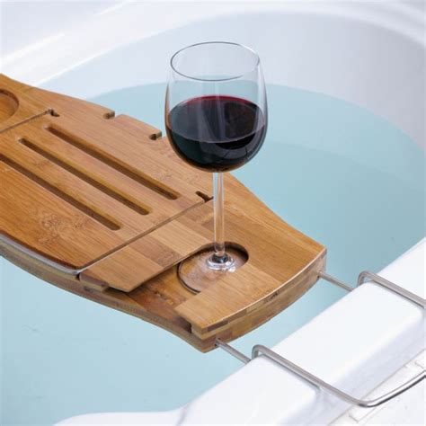 Bathroom Reading Table 15 Bathtub Tray Design Ideas For The Bath Enthusiasts Among Us
