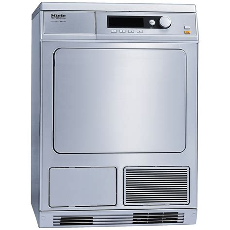 Automatic Dryer pt7135cssmiele compact commercial electric dryer clean touch steel big george s