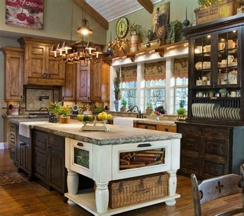 country primitive kitchen decor home pinterest