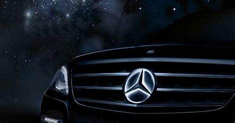 mercedes benz illuminated star accessory